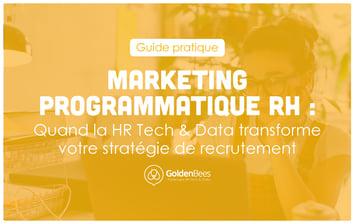 Guide pratique Marketing Programmatique RH