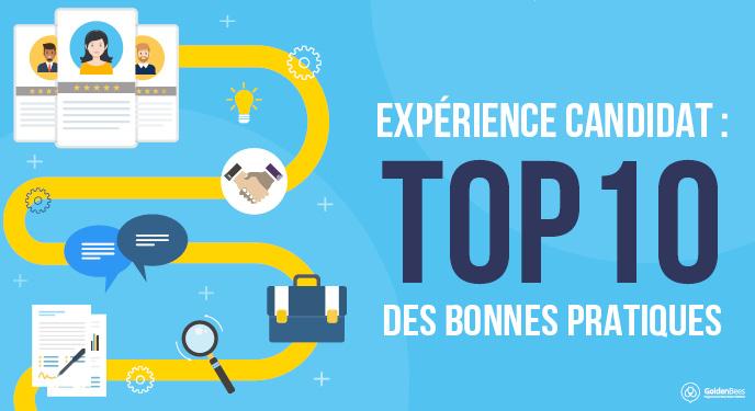 BLOG - VIGNETTE - EXPERIENCE CANDIDAT TOP 10 des bonnes pratiques