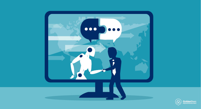 What is the human role in automated recruitment?