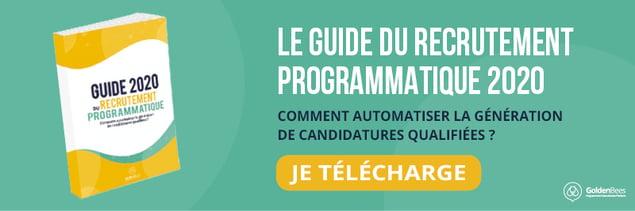 Guide du recrutement programmatique