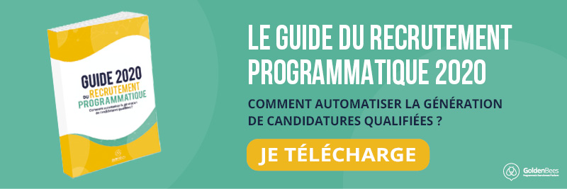 GUIDE DU RECRUTEMENT PROGRAMMATIQUE GOLDEN BEES