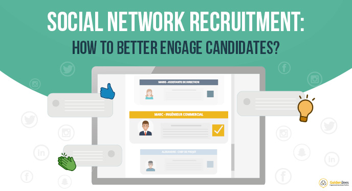 Vignette - Social network recruitment - how to better engage candidates