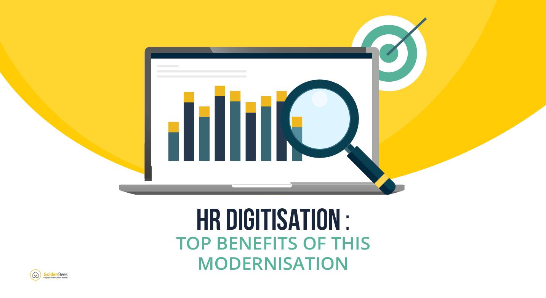 Visuel - HR Digitisation - top benefits of this modernisation
