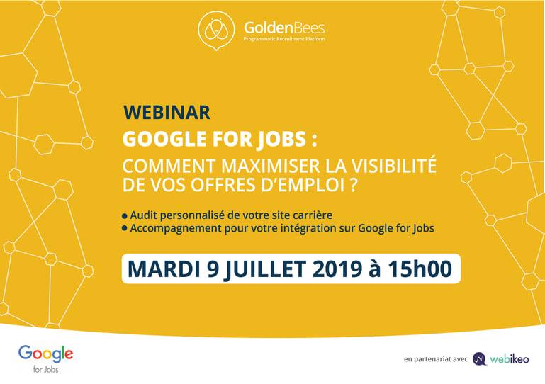 GOOGLE FOR JOBS : COMMENT MAXIMISER LA VISIBILITÉ DE VOS OFFRES D'EMPLOI ?