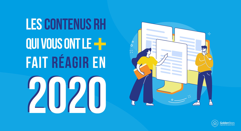 Les contenus RH qui vous ont le plus fait réagir en 2020