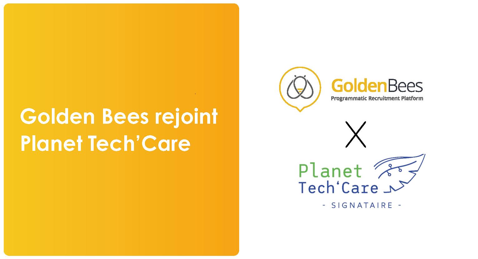 Golden Bees rejoint Planet Tech'Care