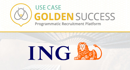 USE CASE ING LUXEMBOURG GOLDEN BEES